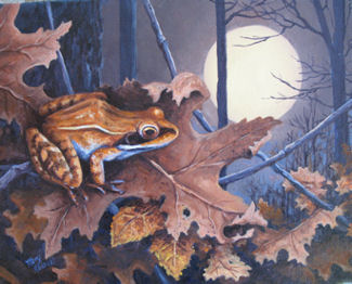 """Wood Frog Moon"" by Mary Kokoski"
